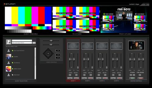 LiveToAir interface